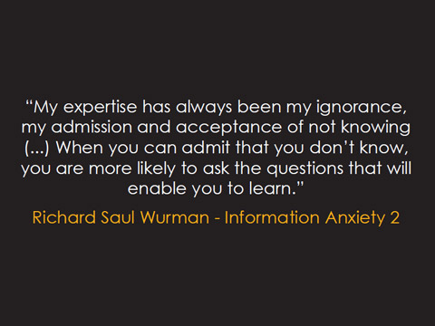 Frase Richard Saul Wurman